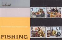 GB 1981 FISHING PRESENTATION PACK 129 SG 1166-1169 MINT STAMP SET # 129