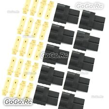 10 Pcs Male Traxxas TRX Plugs Lipo/NiMh Brushless ESC Battery RC Connector