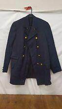 Vintage Wool Lexington Blue Fire Department Officers Coat
