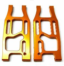 BMT0005 1/10 Alloy HPI Bullet 3.0 Rear Lower Suspension Arms Left Right Orange
