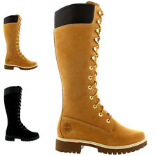 "Ladies Timberland Premium 14"" Waterproof Earth Keeper Winter Boots All Sizes"