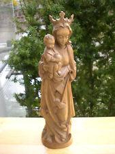 Holzfigur -Heiligenfigur-Madonna mit Kind - Oberammergau? - geschnitzt- Deko