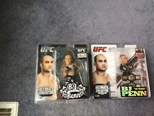 2 BJ penn UFC Round 5 action figure Lot