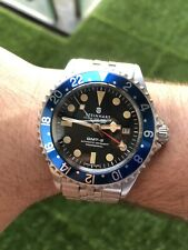 Steinhart GMT-2 Hong Kong Limited Edition watch (jubilee)- Rare And Discontinued