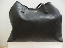 Guess Large Vikky Black Slouchy Logo Tote Bag Ladies D207