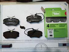 Front pads VALEO 540148, 301179 Peugoet 306,405 WVA 21209 APEC 546 BENDIX db1258