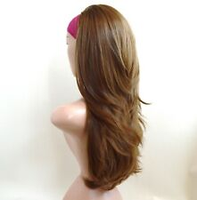Chestnut Brown Long Straight Lace Front Wig 093