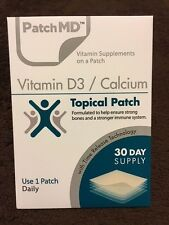 PatchMD Vitamin D3 / Calcium   * 30 Day Supply *  (((((SALE $1 SHIPPING)))))
