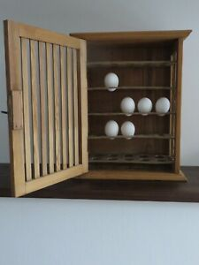 Rare antique cabinet for eggs