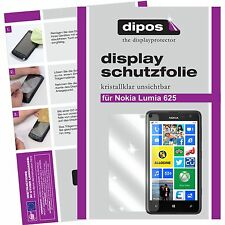 Nokia Lumia 625 Schutzfolie klar Displayschutzfolie Folie dipos Displayfolie