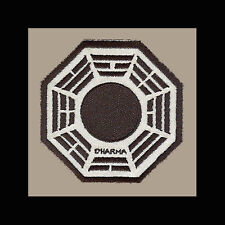 """LOST Dharma Initiative Embroidered patch """"Pearl"""" (Black)"""