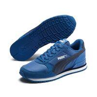 Puma St Runner Mesh v2 JR Damen Kinder Unisex Sneaker Low Top Retro 367135 Blau
