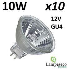 10 Ampoules halogène dichroique MR11 GU4 12V 10W