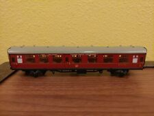 00 Scale Coach Car~Hornby Dublo Carriage E15770~Vintage Train Model~Talisman