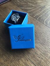 Jewelry Palace Crystal Flower Ring Size R