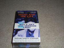 Night and The City (VHS) Robert De Niro, Jessica Lange, Night and the City Richa