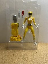 """Power Rangers Legacy Collection Yellow 6"""" Figure Build a Megazord LBB"""