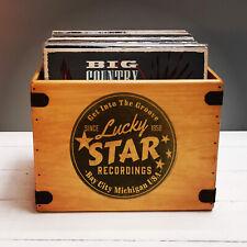 Lucky Star Record Box Madonna 80's 12 Inch LP Vintage Vinyl