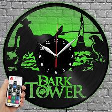 Led Clock Dark Tower Vinyl Record Wall Clock Led Light Wall Clock 1948