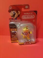 "Bowser Jr 4"" inch World Of Nintendo figure Jakks Pacific Rare 1-5"