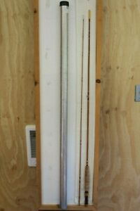 Vintage Bamboo Fly Rod  7 1/2 ft.  one tip  Rewrapped  bag & tube Fishable
