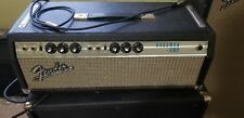 Vintage 1969 Fender Bassman Tube Guitar Amplifier Silverface Amp