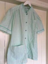 Alexandra D300 Women's light weight healthcare Tunic Green white Stripe  Size 20
