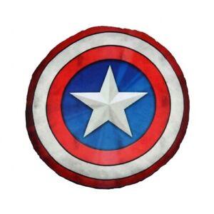Kissen - Marvel: Captain America Schild (ca. 33 cm) (Neuware)