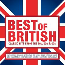 Various / Best Of British: Classic Hits From The 80s 90s & 00s *NEW* Music CD
