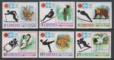 Liberia - 1971, Winter Olympic Games (Animals / Birds) set - CTO - SG 1090/5 (h)