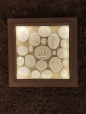 Display Light box Frame 21 Grand Tour Cameos Intaglios Medallions Tassie Seals