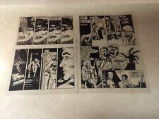 MARVELMAN (MIRACLEMAN) ACETATE ART - 2 pages WARRIOR #15 ALAN MOORE, 1983