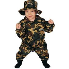 Baby Military Officer Costume Fancy Dress Set