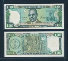 [105047] Liberia 1999 100 Dollars Bank Note UNC P25