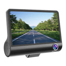 4'' Dual Lens HD 1080P Car DVR Dash Cam Recorder Camera G-sensor PREMIUM QUALITY