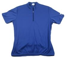 Bellwether Cycling Mens Criterium Jersey Size Large Cobalt Blue