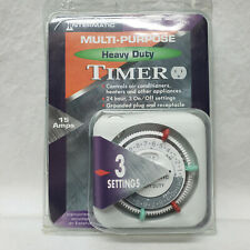 Intermatic Multi-Purpose Heavy Duty Timer With 3 Settings