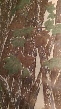 """Rebark Camo Mosquito Tent Netting Woods Leaves Camouflage Mesh Fabric 56"""" wide"""