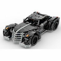 Zaibatsu GTA2 Z-Type Car auto static Brick Block Moc Technic Lego compatibile