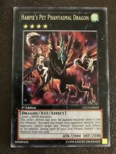 Harpie's Pet Phantasmal Dragon Yugioh Card Genuine Yu-Gi-Oh Trading Card