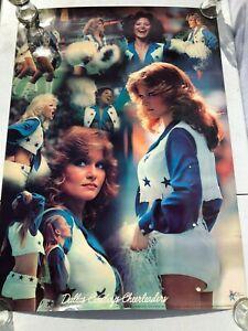 Vintage 1979 Dallas Cowboys Cheerleaders Poster 20X28 - Retro - VTG