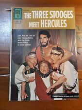 THE THREE STOOGES MEET HERCULES 1962 DELL MOVIE CLASSIC