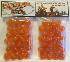 2 Bags Of Cushman Motor Scooters Promo Marbles