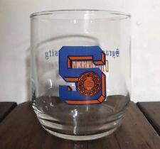 Vintage Syracuse University Drinking Glass Syracuse Orangemen 1970s NEW