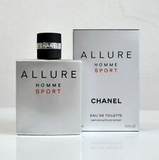 Chanel Allure Homme Sport 3.4 oz / 100 ml EDT Spray Men New In Box Authentic