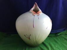 Lovely Rare Franz Porcelain Large ''Butterfly'' Vase Model XP-1908 RD8890