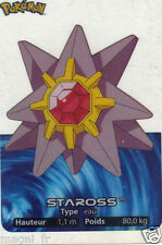 Pokemon lamincards n° 121 - STARMIE (A2954)