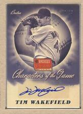 Tim Wakefield CG-TW 2013 America's Pastime Characters of the Game Auto 08/15