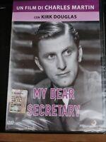 dvd film MY DEAR SECRETARY  con KIRK DOUGLAS di Charles Martin   CULT NUOVO
