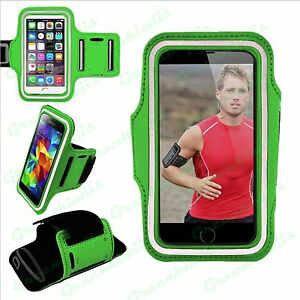 Best Sports Gym Cycling Running Jogging Armband Adjustable Arm Band Case Cover